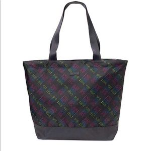 PINK Victoria's Secret Weekender Tote Bag Rainbow